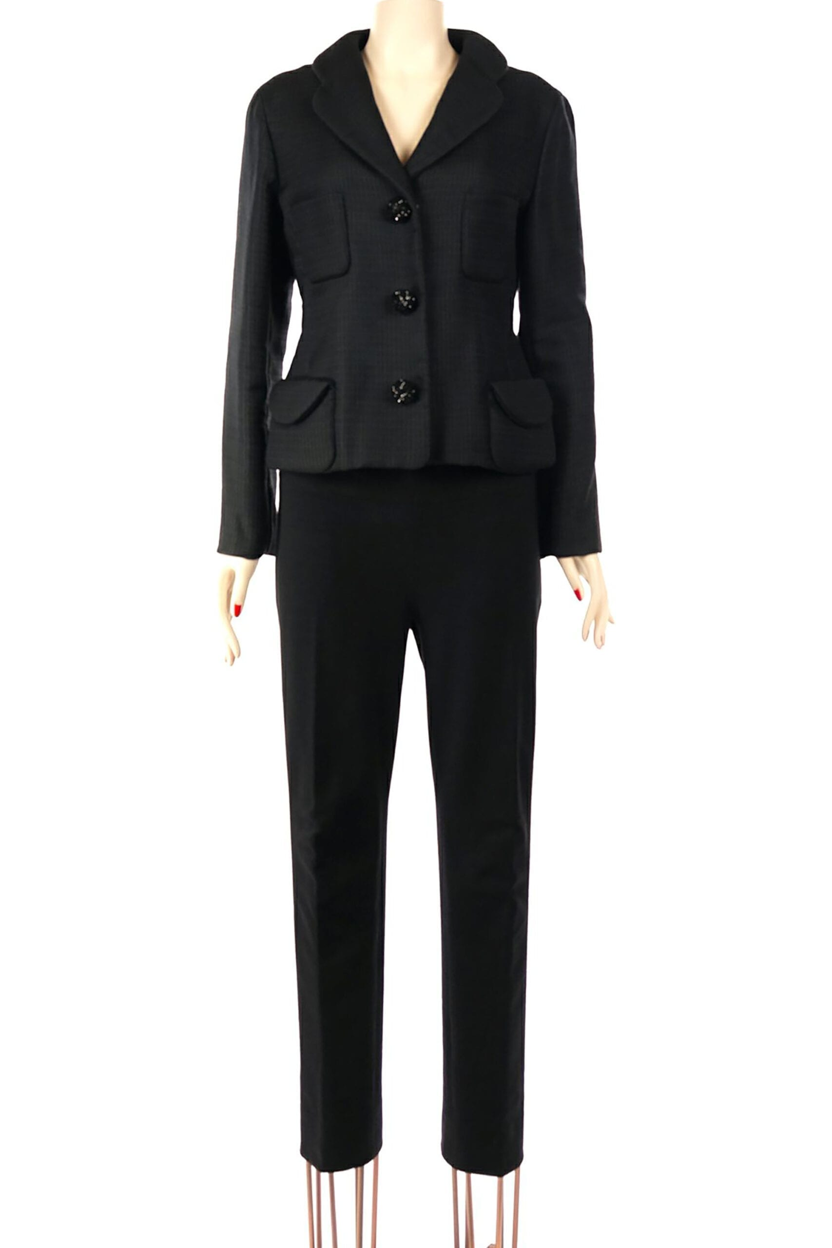 giacchina nera marc jacobs