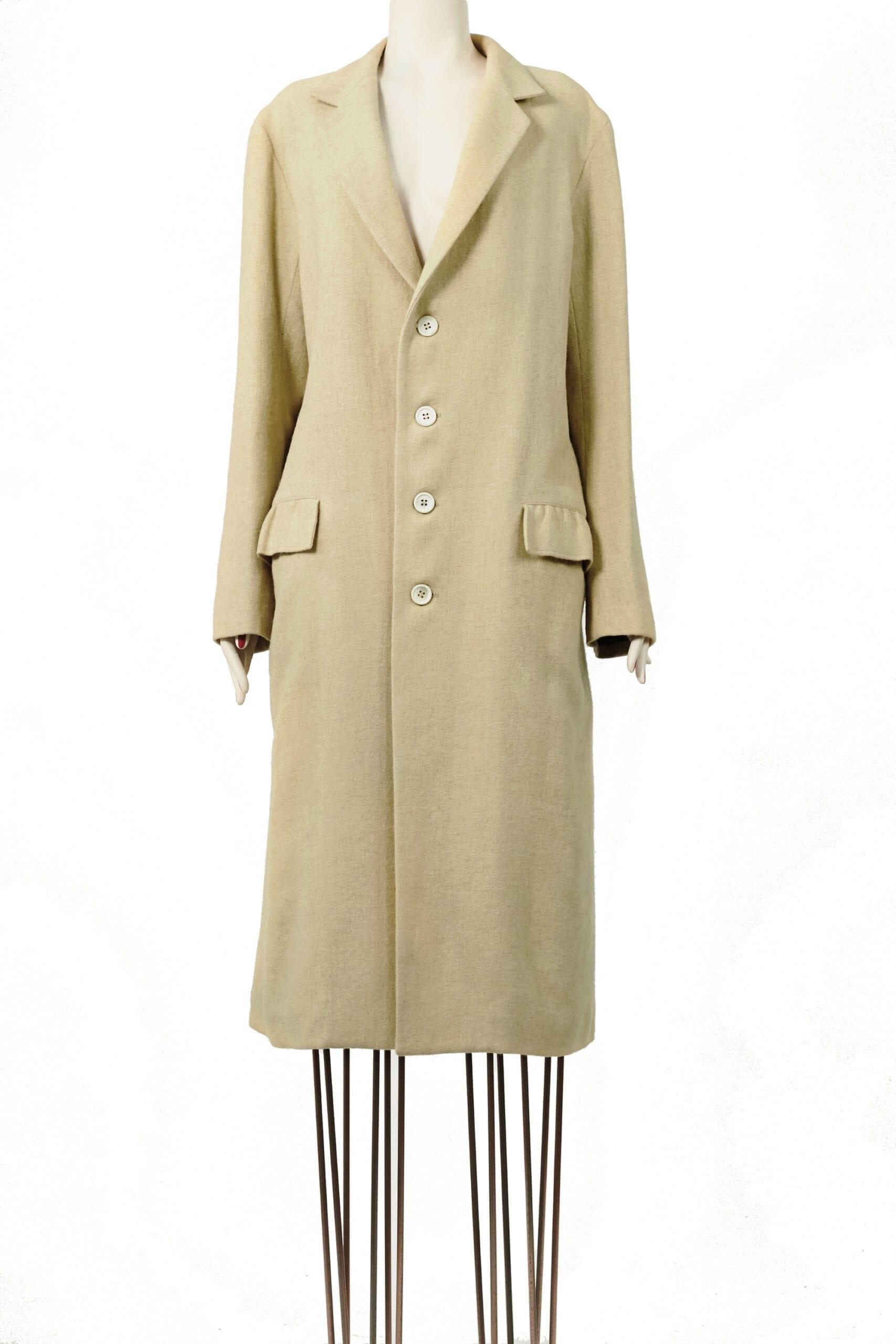 cappotto crema yamamoto