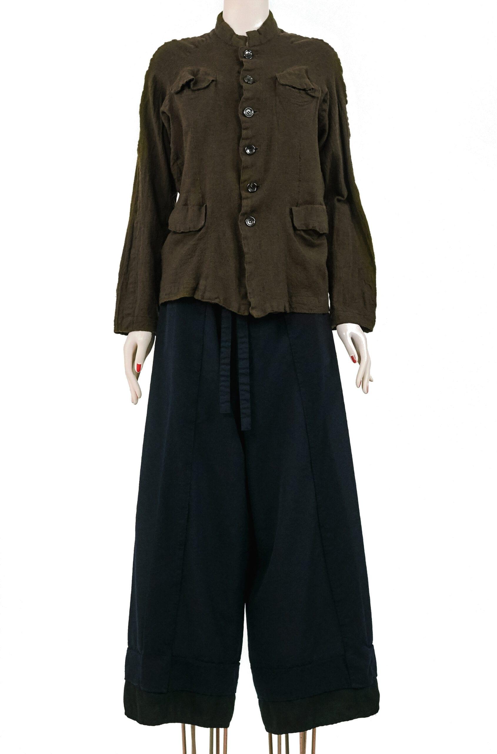 giacca militare lana cotta YOHJI YAMAMOTO