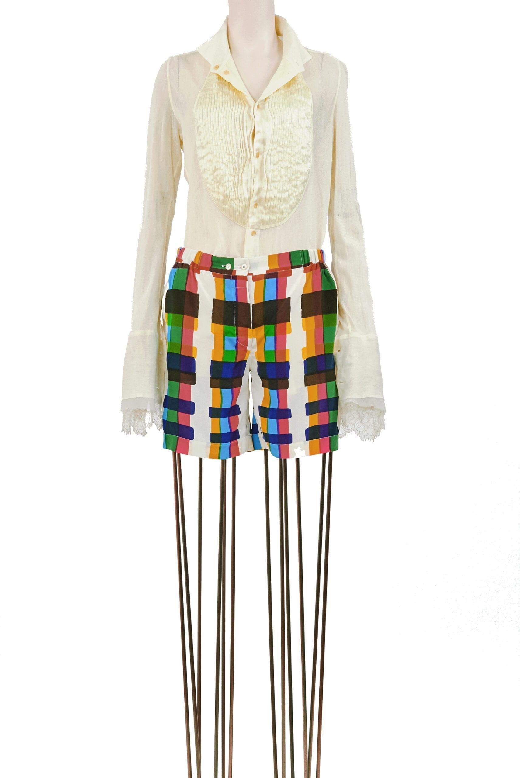 shorts multicolore balenciaga-1