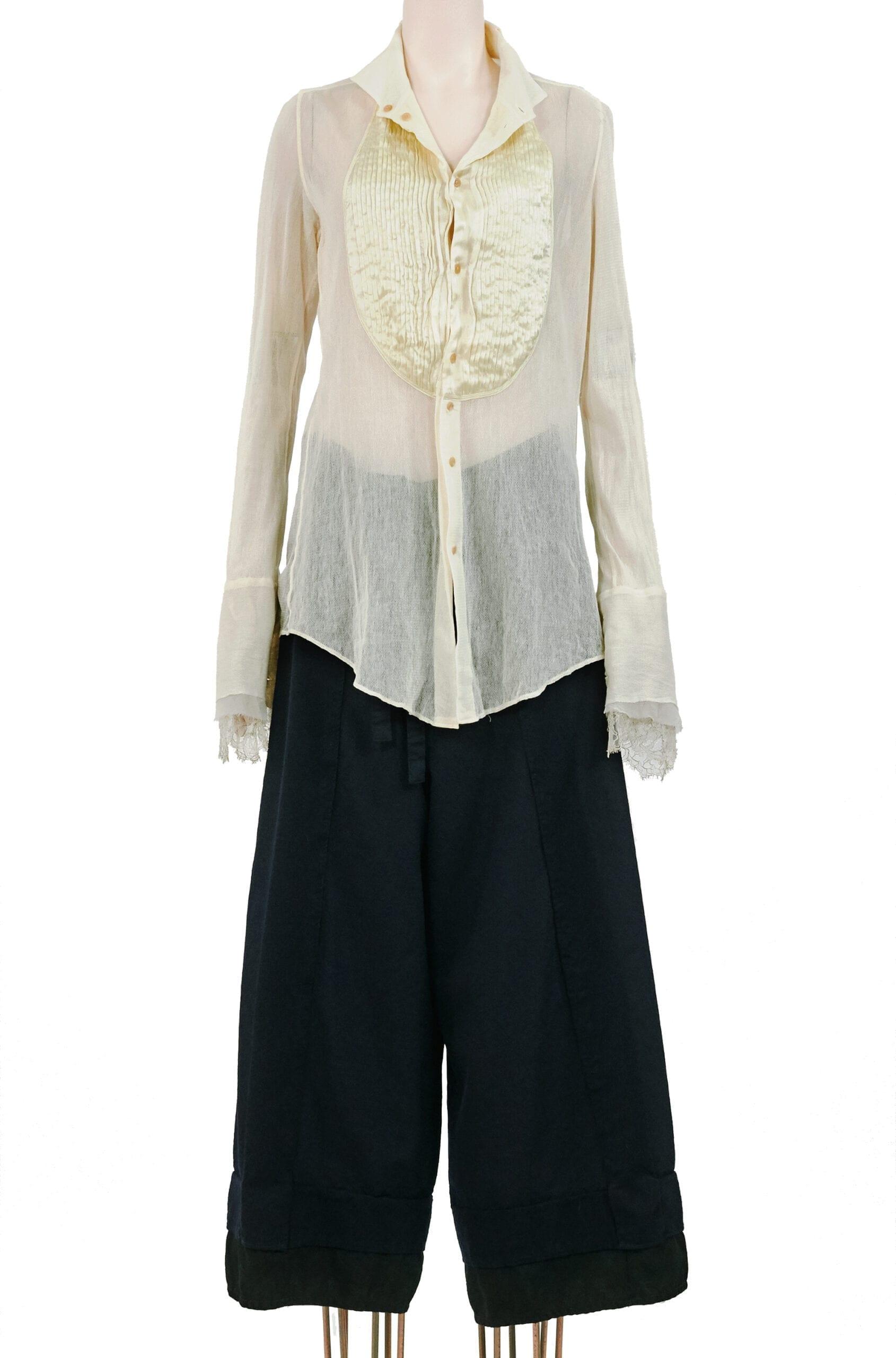 camicia avorio if six was nine